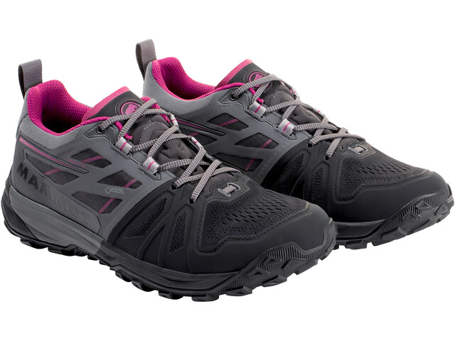 Mammut Saentis Low GTX Shoes Dame black-titanium